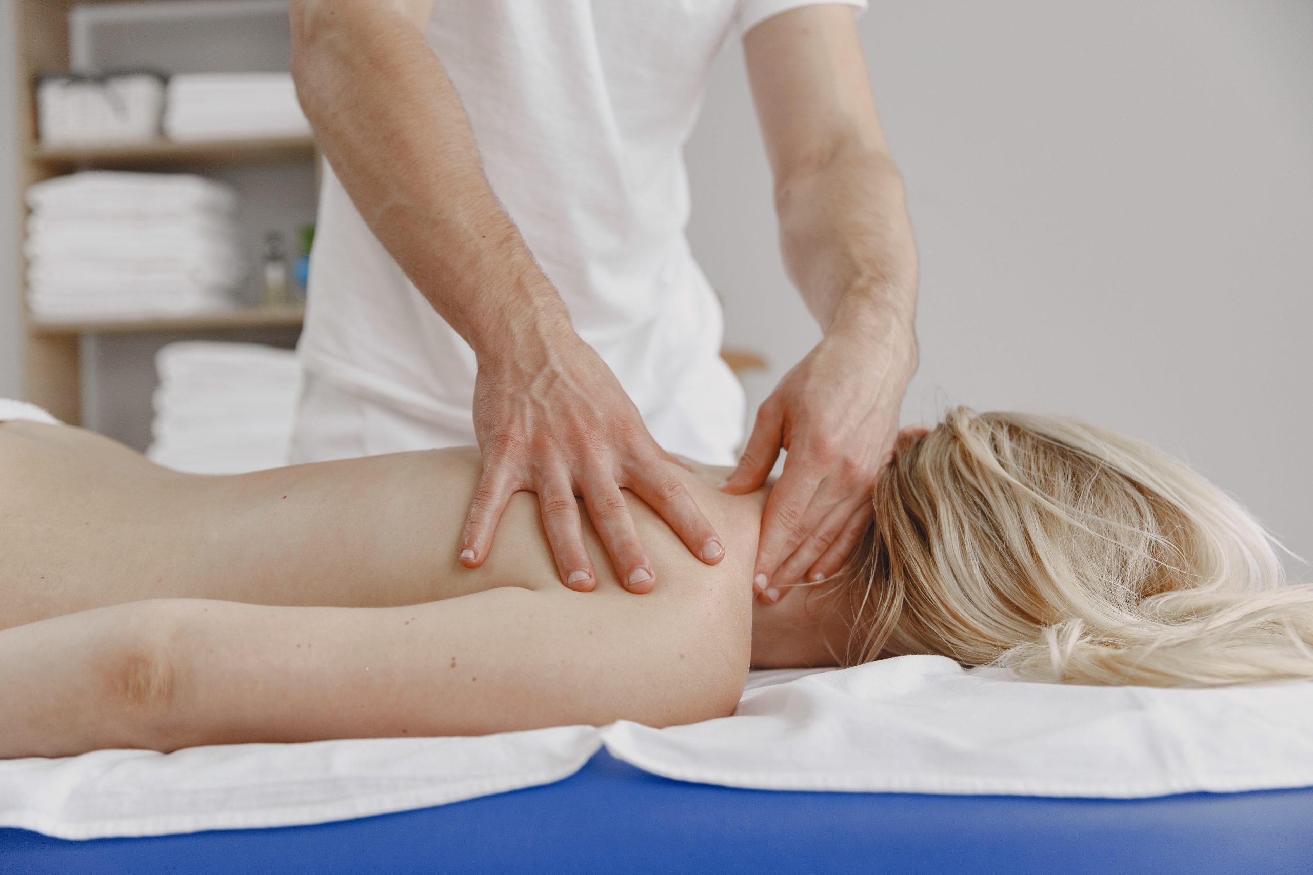 Hinter den Kulissen Massage