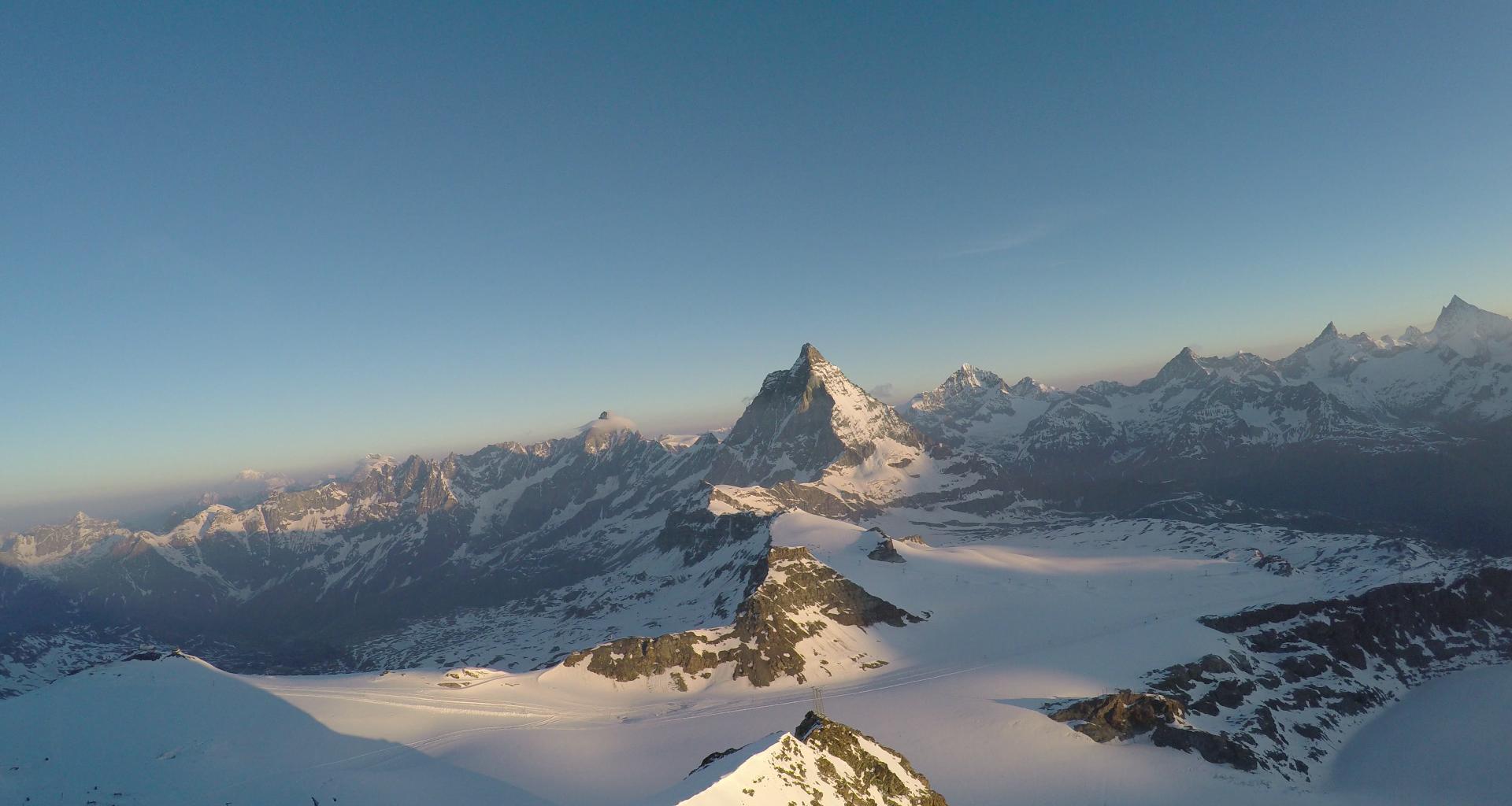 Panorama mit Matterhorn
