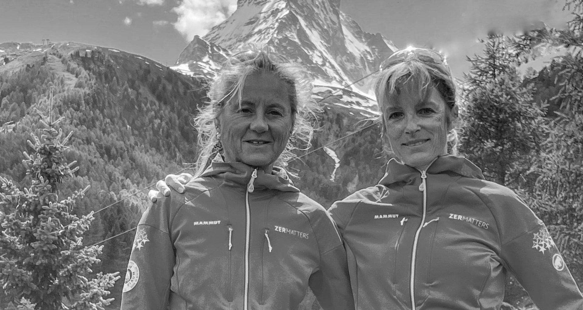 Bergführerinnen Bettina & Suzanne