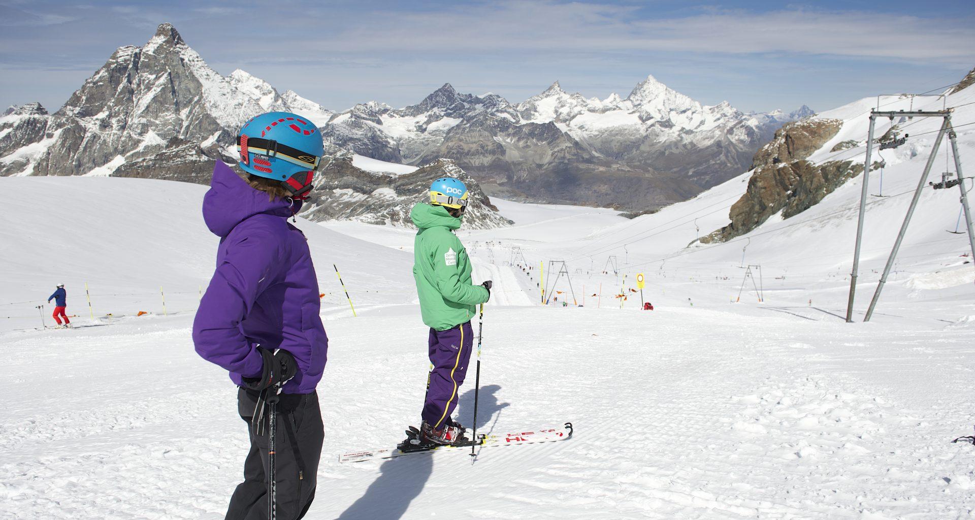 Sommerskitag Zermatt